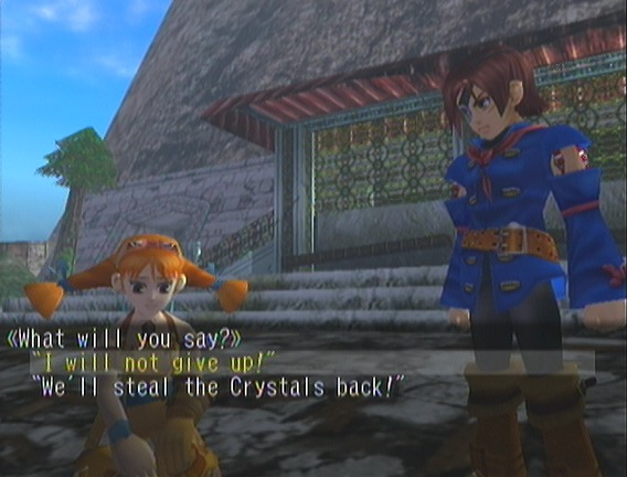 Vyse, you were always a nice boy weren't you?
